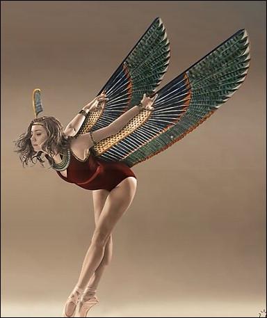 Qui est cette déesse égyptienne de l'ordre cosmique et de la sagesse ?