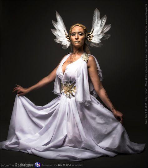 Qui est cette déesse nordique des guerrières et de la beauté ?