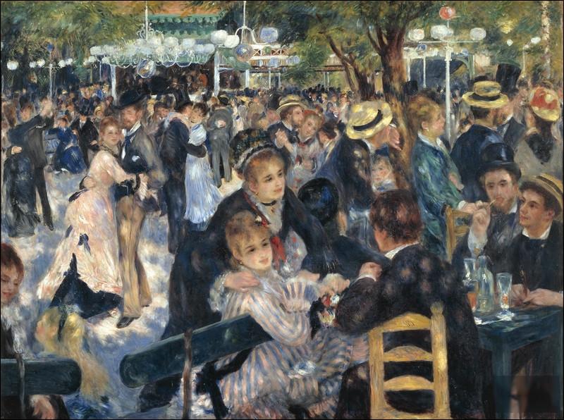 """Qui a peint """"Le Bal du Moulin de la Galette"""" ?"""
