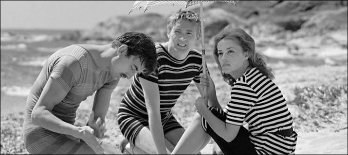 """""""Jules et Jim"""" est un long-métrage mis en scène par François Truffaut."""