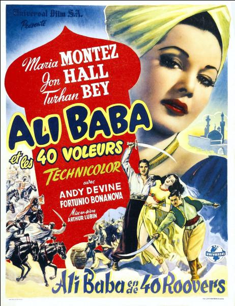 """""""Ali Baba et les quarante voleurs"""" est un film joué par Fernandel."""