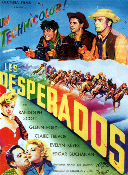 """""""Desperado"""" est un long-métrage dans lequel joue Antonio Banderas."""