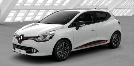 3e > Pourquoi le cacher : c'est bien une Renault et elle est sur le podium (des voitures les plus volées en France)
