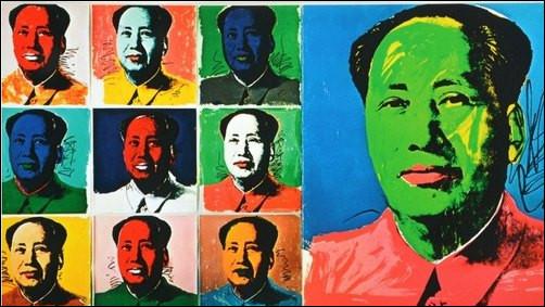 Né après 1950, le Pop Art se concentre sur des images de la culture populaire détournée, comme les publicités ou les personnalités de l'époque. De qui est cette œuvre ?