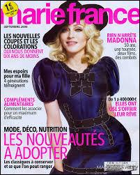 """""""Marie France est un magazine :"""