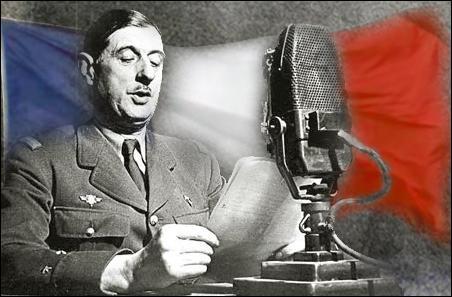 """Au micro de la BBC, le général de Gaulle terminait son discours par les mots inoubliables """"Vive la France libre dans l'honneur et l'indépendance"""". À quelle date ?"""
