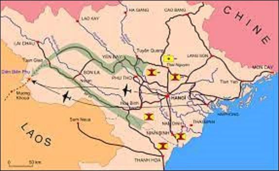 7 mars 1954 : Chute de Diên Biên Phu. À 17 heures, le cessez-le-feu, ordonné par le général de Castries, met fin aux assauts commencés mi-mars et termine la bataille la plus meurtrière des guerres de décolonisation. Dans quel pays se situe cette ville ?