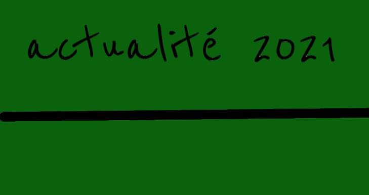 Actualités 2021/1