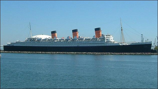"""Mais qui rôde encore et toujours sur le """"Queen Mary"""", en Californie ?"""