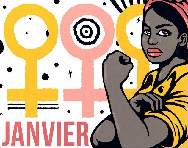 150 dates pour fêter les femmes (janvier)