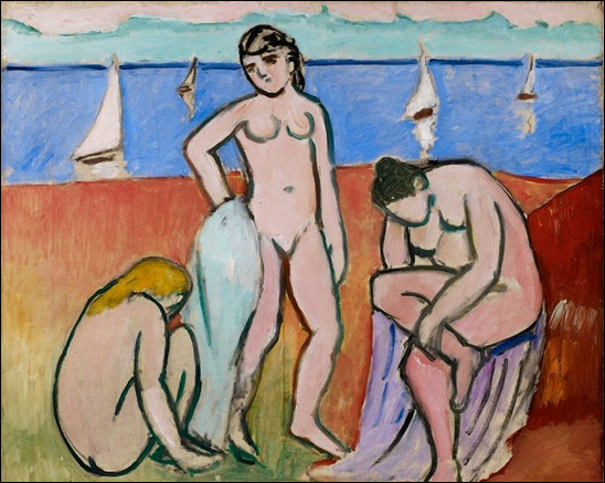 "Qui a peint ""Trois baigneuses"" ?"