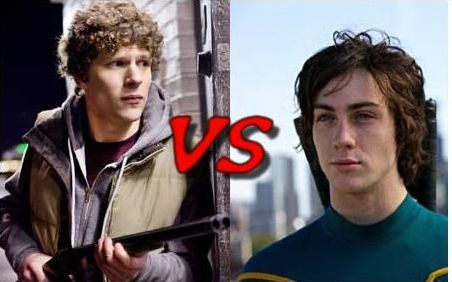 Dave de Kick-Ass VS Columbus de Zombieland