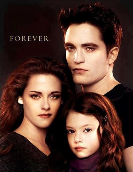 Comment est la fille de Bella et Edward ?
