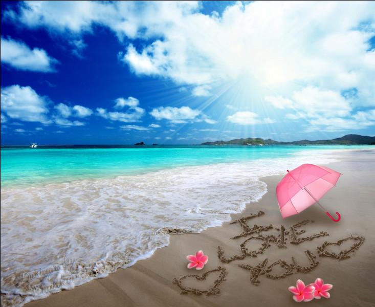 Qui préfère l'amour en mer ?
