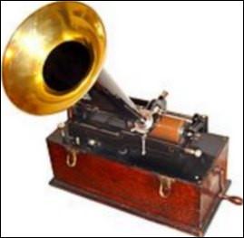 Enregistrer et écouter un son devient possible dès 1878 grâce au...