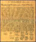 Quelle est la date de la déclaration d'indépendance, ce texte politique par lequel les 13 colonies britanniques d'Amérique du Nord ont fait secession du Royaume Uni ?