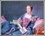 Quel peintre nommé premier peintre du roi en 1765 a réalisé ce portrait de la marquise de Pompadour ?