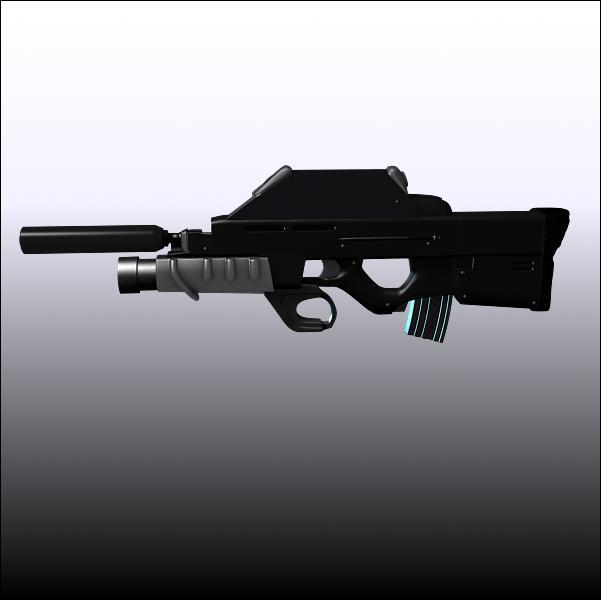 Comment se nomme le fusil d'assaut multi-fonctions qu'utilise Sam Fisher ?