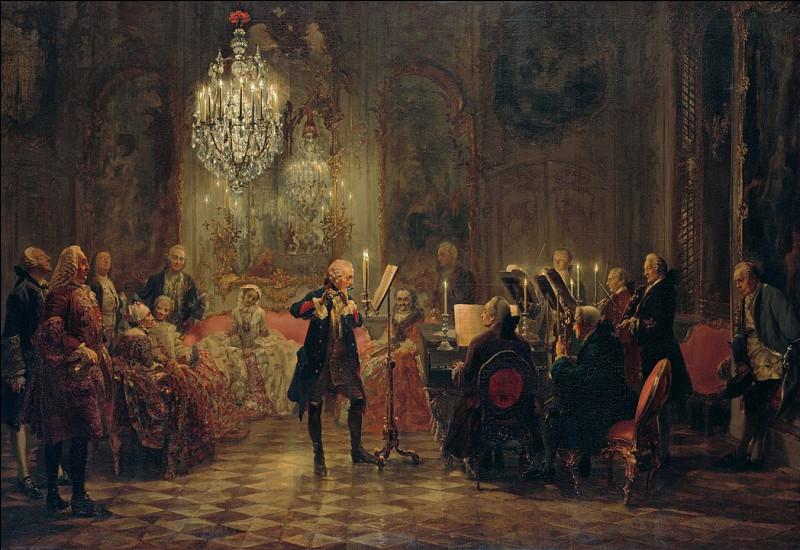 Ce monarque à plusieurs cordes était aussi musicien, ce n'est pas du pipeau ! Qui était-il ?