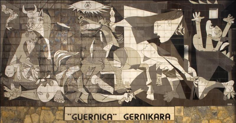 """Dans quel musée est exposé le tableau """"Guernica"""" peint par Picasso ?"""