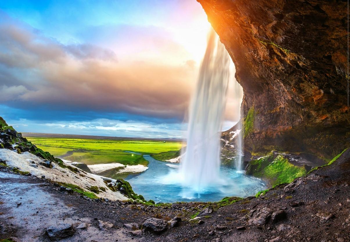 Les régions islandaises