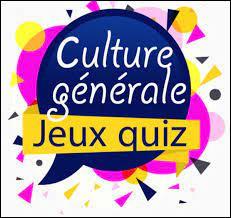 Culture générale capricieuse !