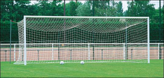 Quelle est la taille d'une cage de football professionnel ?
