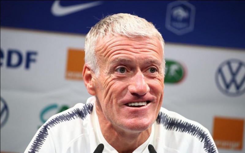 Quel est le coach de l'équipe de France masculine de football  en 2021 ?