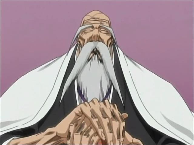 (Yamamoto-Genryûsai) Contre quels capitaines se bat-il juste après le sauvetage de Rukia par Ichigo ?