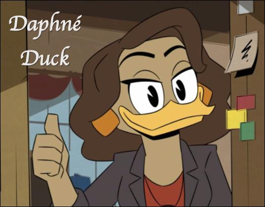 Est-ce la femme de Donald Duck ?