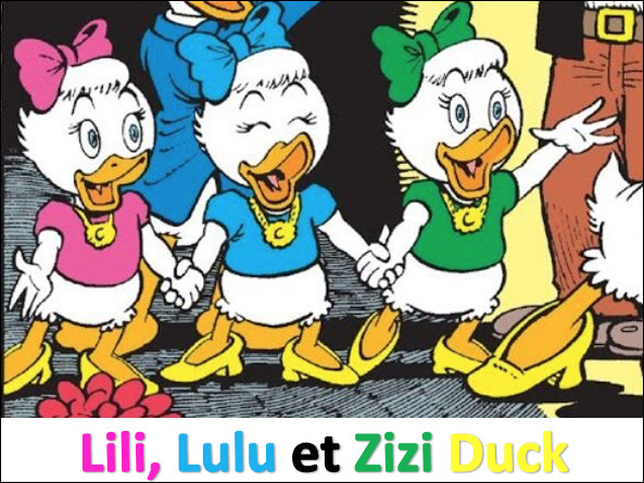 Sont-ce les nièces de Daisy Duck ?