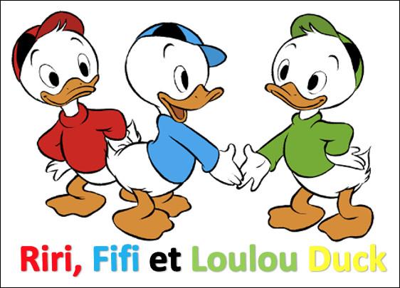 Sont-ce les fils de Donald Duck ?