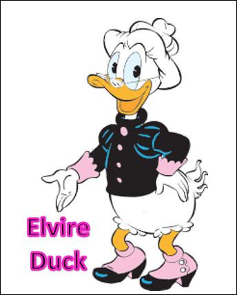 Est-ce la grand-mère de Donald Duck ?