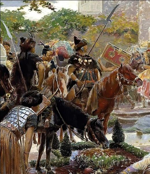Les Huns menèrent la guerre à de nombreux peuples, mais certainement pas aux...