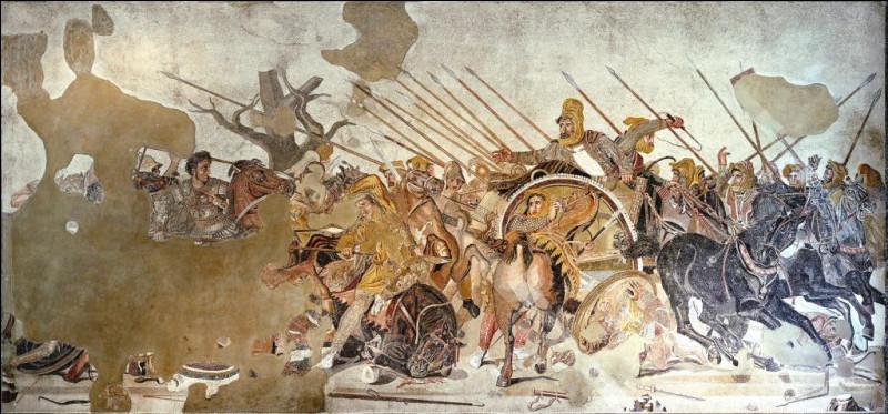 Alors que les Romains guerroient pour la domination d'une partie de la péninsule italienne, Alexandre le Grand entre en guerre contre...