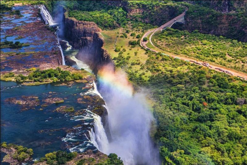 Quel est ce pays d'Afrique connu pour ses paysages et surtout son esclavage ainsi que sa célèbre chute Victoria qui a pour capitale Harare ?