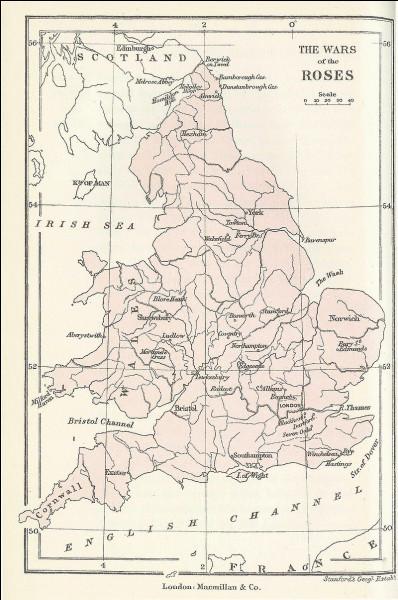 Quel est le nom du conflit qui opposa au XVe siècle en Angleterre la maison royale de Lancastre et la maison royale d'York ?