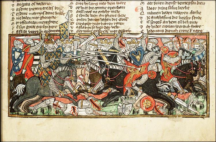 Les guerres ne portent pas toujours de nom ! Au début du VIe siècle, Clovis lance une campagne militaire qui lui permet de s'emparer de l'Aquitaine aux dépends des...