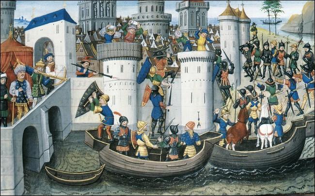 Quelle croisade fut détournée vers Constantinople ?