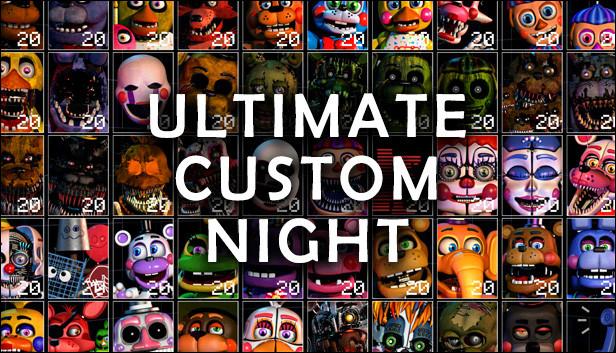 """Où sommes-nous, dans """"Ultimate Custom Night"""" ?"""