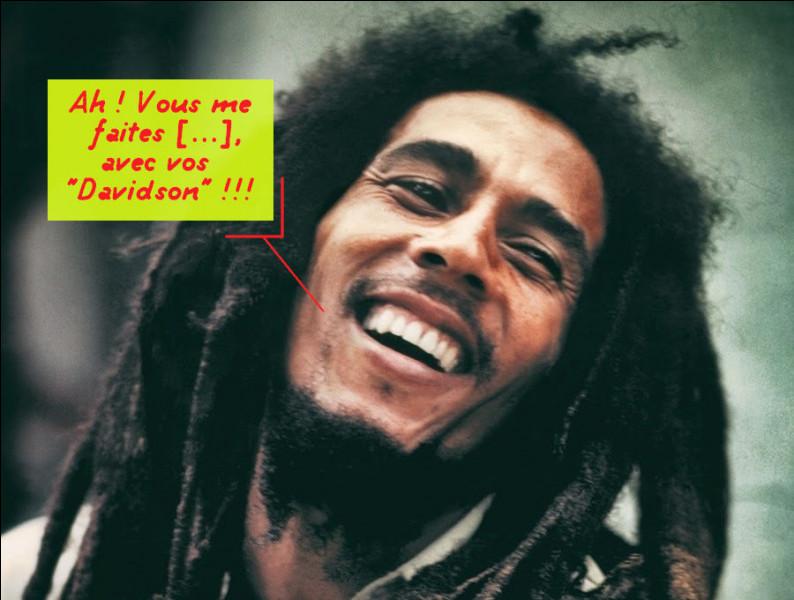 Tout d'un coup, le fond de l'air reggae, vous ne trouvez-pas ?