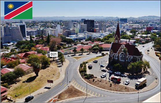 Quelle est cette ville capitale de la Namibie, centre politique, culturel, économique, financier et social du pays ?