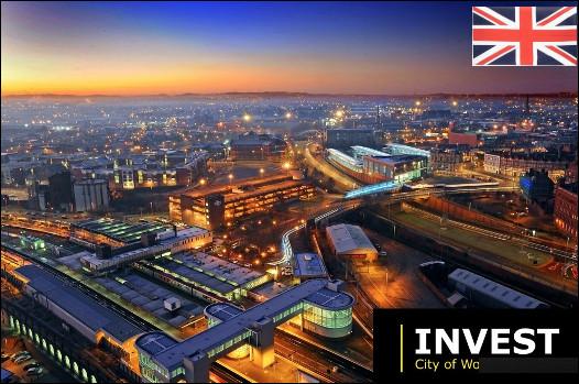 Quelle est cette ville anglaise du comté des Midlands, spécialisée dans l'ingénierie et l'aérospatiale ?