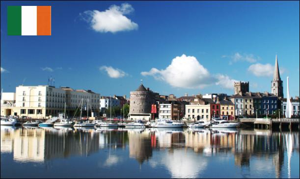 Quelle est cette ville, capitale du comté éponyme, port le plus important d'Irlande, célèbre pour ses cristalleries qui fonctionnent depuis 1783 ?