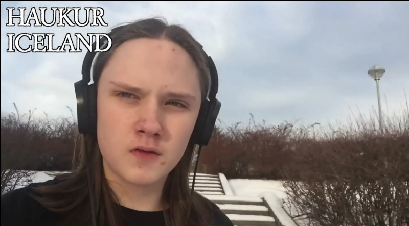"""Complétez : """"Lyftist glóðin..."""""""