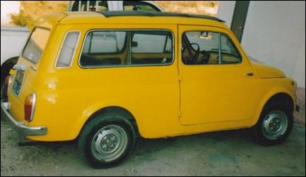 Issue de la Fiat 500 italienne, quelle est cette version en mini-break ?