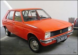 Cette Peugeot 104 de 1972 était une première mondiale pour une 4 portes. Laquelle ?