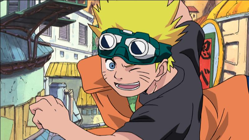 Après avoir le bandeau pourquoi Naruto garde-t-il ses lunettes de moto ?