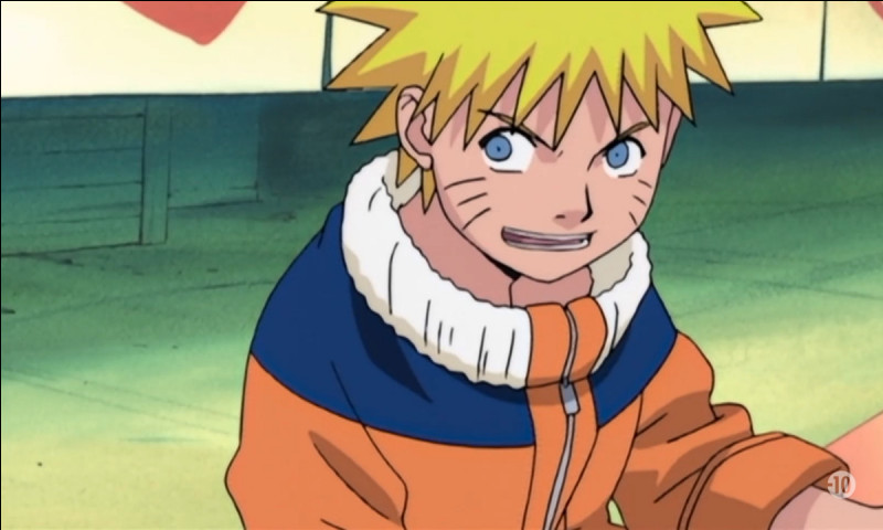 Laquelle de ces phrases Naruto a-t-il dite ?