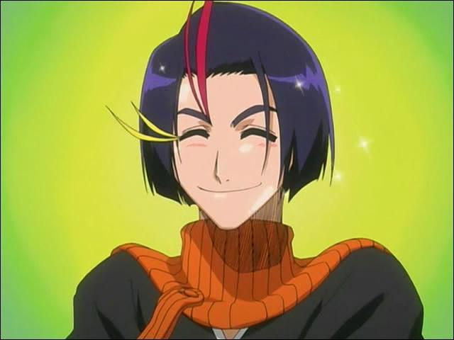 (Yumichika Ayasegawa) Quel métier fait-il lorsqu'il se retrouve dans le monde réel sous les ordres de Toshirô Hitsugaya ?